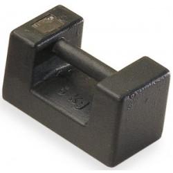 Poids blocs,5kg à 50kg fonte laquée / inox M1 KERN