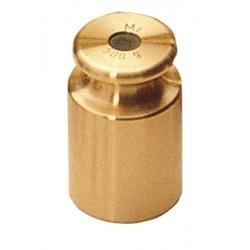 Poids individuels, forme cylindrique, laiton tourné de 1g à 10kg classe M2 KERN
